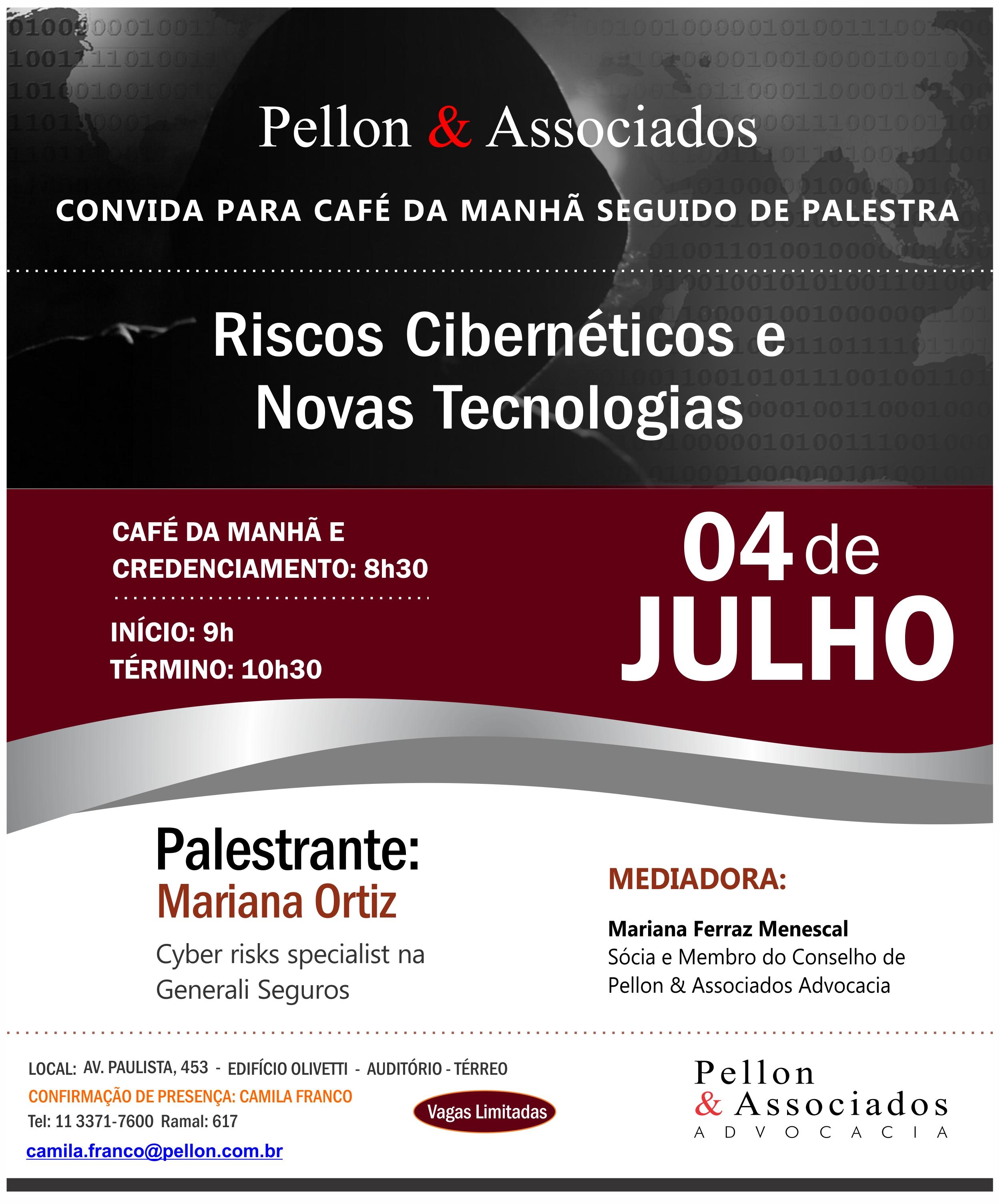 RISCOS CIBERNÉTICOS E NOVAS TECNOLOGIAS