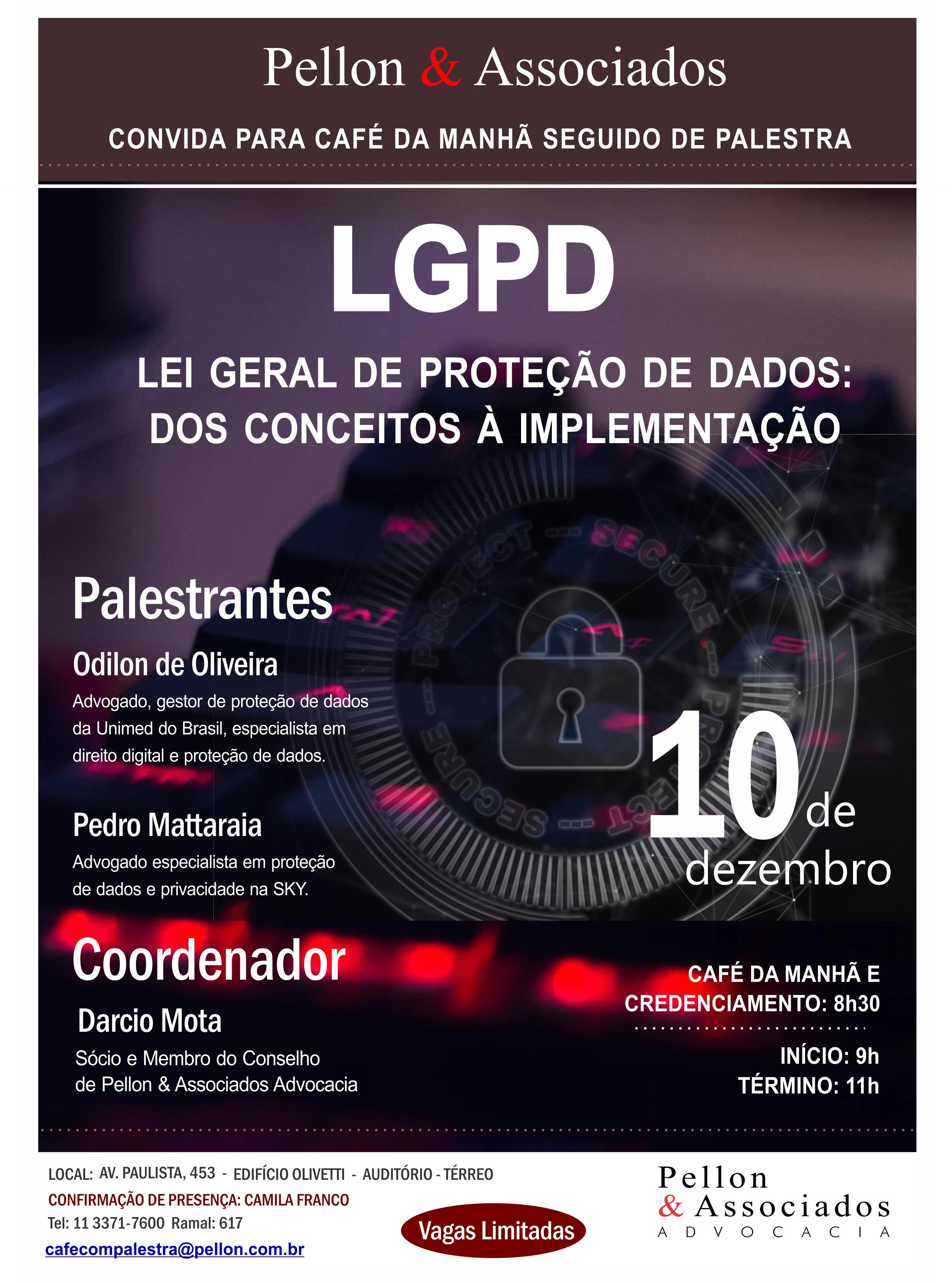 LGPD (Lei Geral de Proteção de Dados): dos conceitos à implementação